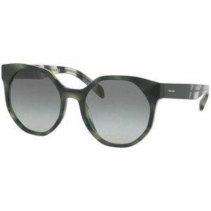 Prada Round Style Sunglasses W/Grey Gradient Lens